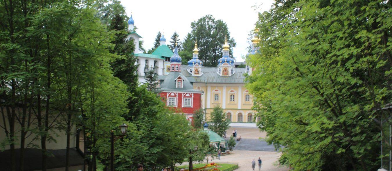 Псково-Печерский Свято-Успенский монастырь.