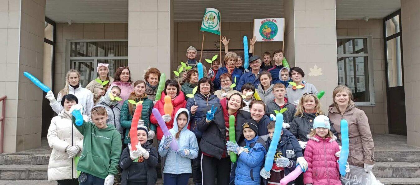 Более 50 человек приняли участие во Всероссийской акции «Зелёная весна 2021».